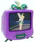 tinkerbell on tv screen