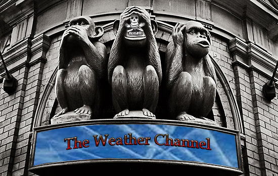 Secret Face of the Weather Channel