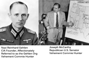 Red Hunters McCarthy and Gehlen
