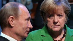 Merkel-Putin over Ukraine