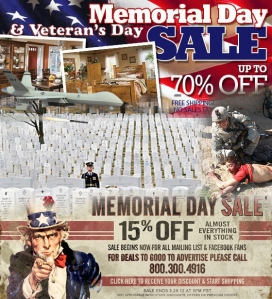 veterans & memorial-day-barbarity-sale