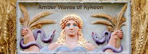 Demeter Eleusian Grain Wisdom Amber Waves Kykeon