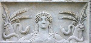 Demeter Eleusian Grain Wisdom