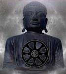tibetan eight spoke wheel heat chakra