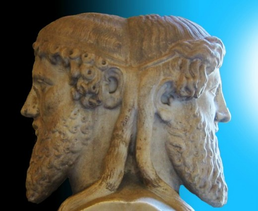 symbolism in janus Symbolism of julius ii's pontificate 1) the route of the papal coronation (via papale),  comparison with the ancient model of the janus quadrifrons, the four- way.