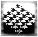 escher 1938 language of the birds